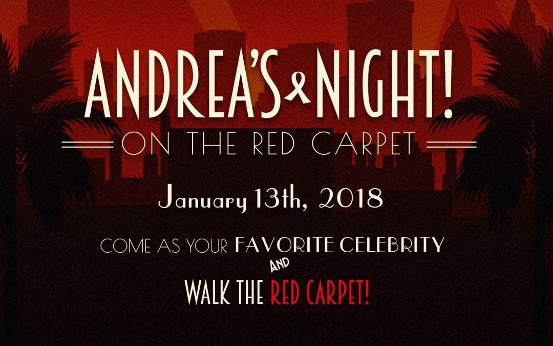 Andrea's Night 2018 Ticket Sales!